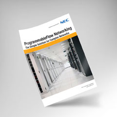 NEC ProgrammableFlow Networking
